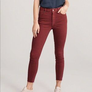 Abercrombie & Fitch Simone High Rise jAnkle jeans 26